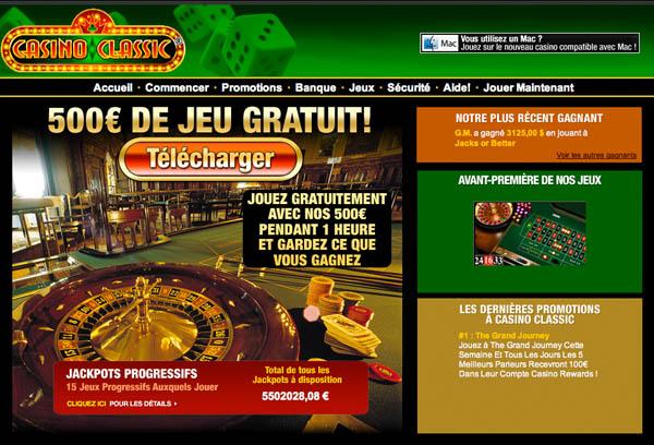 Casino bonus free hour