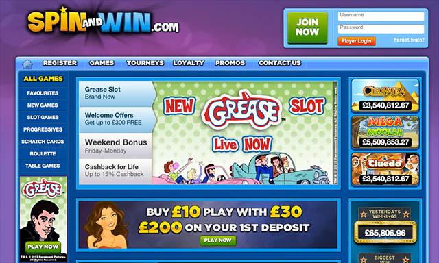 Grease casino turnign stone casino