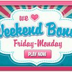 Weekend bonus bonanza at Spin and Win