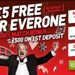 Ladbrokes launches £5 Free No Deposit Required