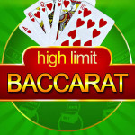 High Roller wins £66,250 with a £5000 bet playing High Limit Baccarat