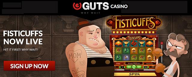 Guts casino 15 free spins