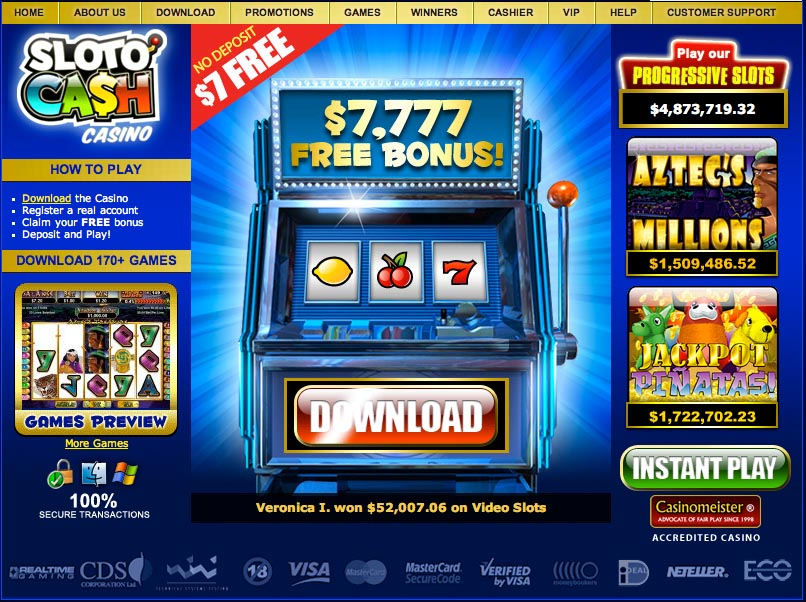 Win Real Money No Deposit Required Casinos