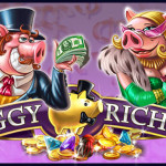 10 free spins NetEnt at Guts Casino on Piggy Riches