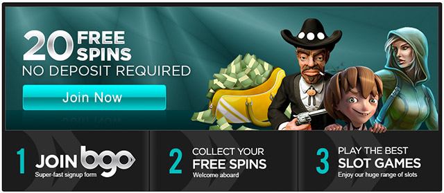 bgo casino 20 free spins