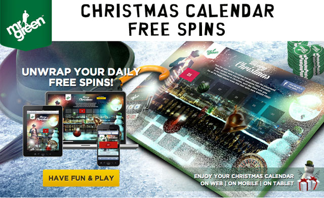 Mr Green Christmas Free Spins
