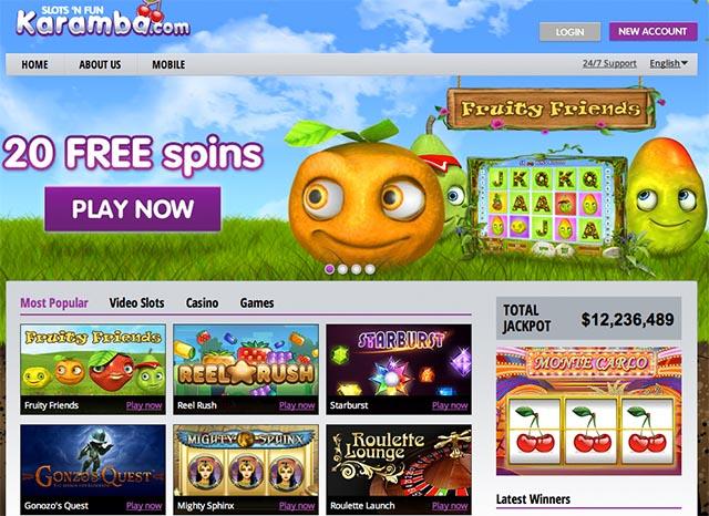karamba online casino  games