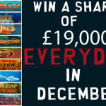 Win a share of £19,000 EVERYDAY at William Hill Casino-VEGAS