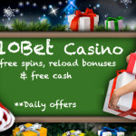 10Bet Casino advent calendar dishes out free spins