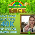 240k Big Win at William Hill VEGAS on Leprechaun's Luck