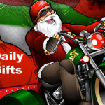Daily Christmas Free Spins Offers at CasinoLuck