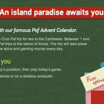 Win prizes in Paf Casino's Christmas Calendar