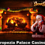 Play Secret Santa Slot and win Cash prizes at Tropezia Palace