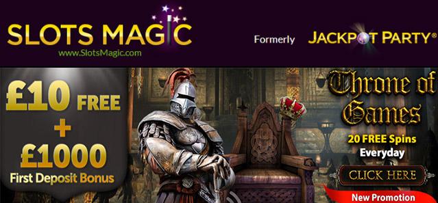 SlotsMagic- New Free Spins Promotion