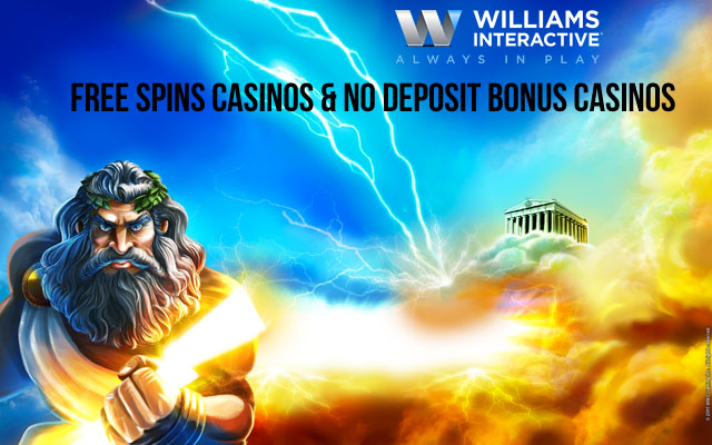 Williams Interactive Free Spins Casinos
