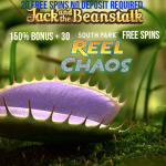 Get 20 No Deposit Free Spins on Jack and the Beanstalk at CasinoExtra