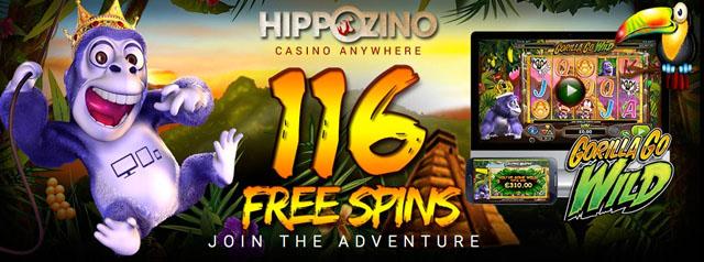 gorilla casino bonus code