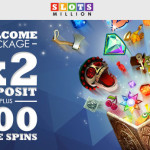 Slots Million Revamped Welcome Offer: 100% Bonus + 100 Free Spins
