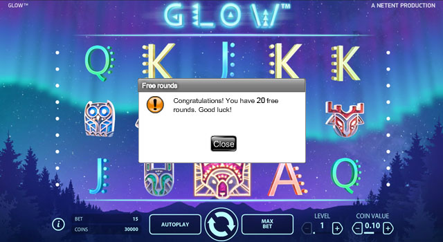 Glow-freespins-Casino-Cruise