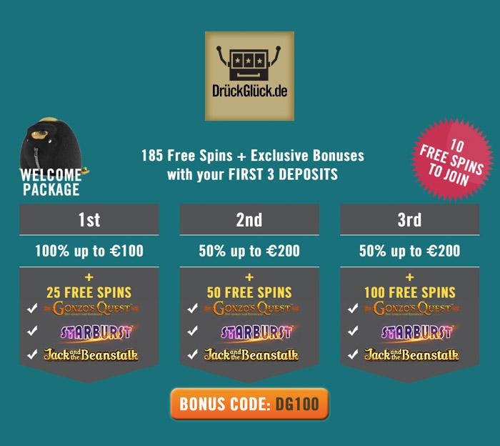 Das Online-Casino für Deutschland - 350 € und Freispiele - Das ist Casino!