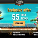 Get your EXCLUSIVE 55 Casino Cruise No Deposit free spins