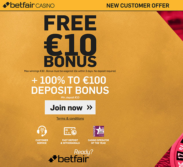 Get A 10 Euro No Deposit Bonus For Players From Uk And Ireland At