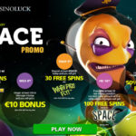 Get February Free Spins in CasinoLuck's Space Promotion (7 – 12 February 2017)