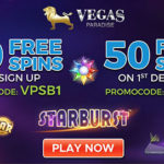 Get 20 Vegas Paradise No Deposit Free Spins in March 2017 | Get an additional 50 Free Spins by depositing £/€/$10