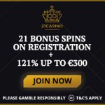 Get your £/$/€21 Bonus No Deposit at 21 Casino