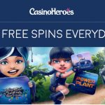 New CasinoHeroes Promotion: How about some Free Spins or a Hollywood VIP experience?