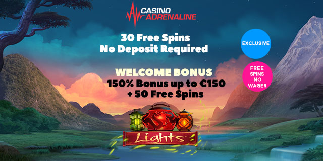 Casino adrenaline 30 free spins