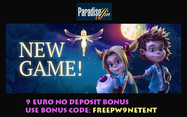 9 Euro No Deposit Bonus ParadiseWin Casino