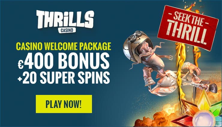 Thrills Casino | Spill BlackJack & FГҐ Gratis Spins
