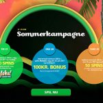 CasinoLuck Danish Summer Promotion now on – limited offer until 29 June only!