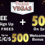 Want to get a Free No Deposit Bonus this June 2017? Our answer: Pocket Vegas Casino