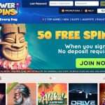 New Casino Offer! PowerSpins Casino Welcome Bonus and 50 Free Spins No Deposit now available.