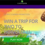 CasinoLuck Aloha Promotion – win a dream holiday trip to Hawaii!