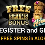 Claim your 11 NetEnt No Deposit Free Spins on Aloha! Cluster Pays at Play ShangriLa Casino