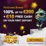 Sign up at Videoslots Casino to claim 11 Welcome Spins No Deposit Required!